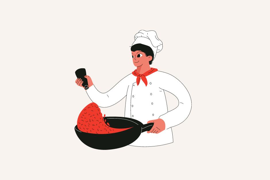飲食店の仕事内容:キッチン