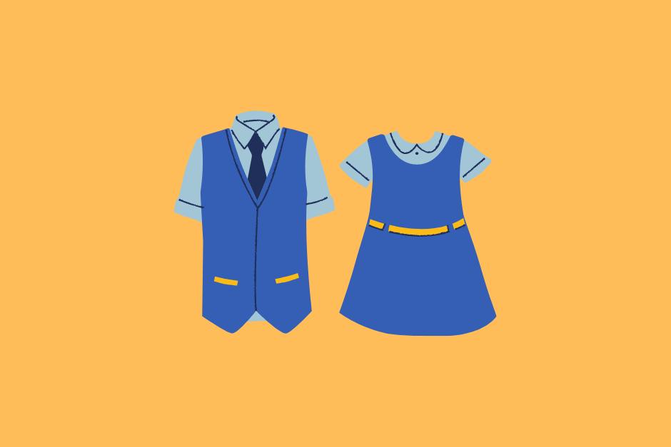 バイト用の服装